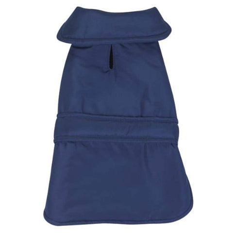 Casual Canine Barn Dog Coat blue, casual canine, coat, dog, dog clothes, fashionable, jacket, trendy Pets Go Here, petsgohere