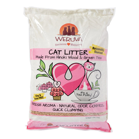 Weruva Tea Potty Cat Litter 11.7 Lb