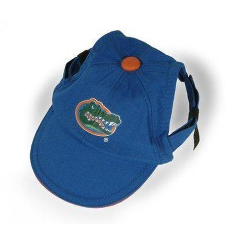 Florida Gators Dog Hat-DOG-Sporty K9-SMALL-Pets Go Here ball cap, bandana, dc, dog clothes, hat, l, m, ncaa, s, sports, sports bandana, sports hat, sporty k9 Pets Go Here, petsgohere