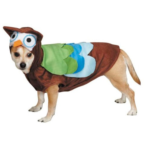 Zack and Zoey Cute Hoots Dog Costume-DOG-Zack & Zoey-X-SMALL-Pets Go Here costume, l, m, m/l, s, s/m, xl, xs, yellow, zack & zoey Pets Go Here, petsgohere