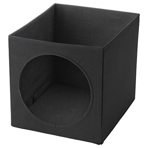 IKEA LURVIG Cat house BLACK cat, cat bed, cave, ikea, lurvig Pets Go Here, petsgohere