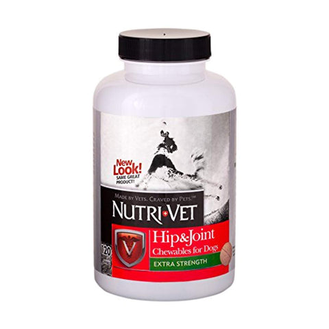 Nutri-Vet Hip & Joint Plus EXTRA STRENGTH hip, joint, nutri-vet, supplement Pets Go Here, petsgohere