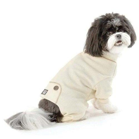 PetRageous Thermal Dog Pajamas CREAM-DOG-PetRageous-LARGE-Pets Go Here beige, brown, cream, l, m, pajamas, red, s, tan, white, xl, xs Pets Go Here, petsgohere