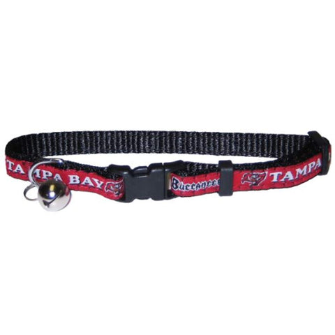 Pets First NFL Tampa Bay Buccaneers Cat Collar - One adjustable size fits most cats