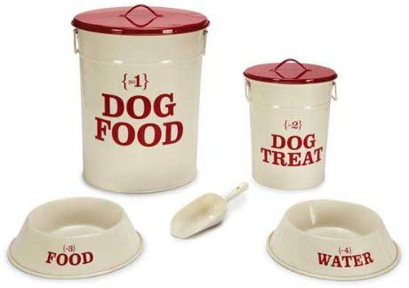 Petstudio No.1 Dog Dining Collection Cream