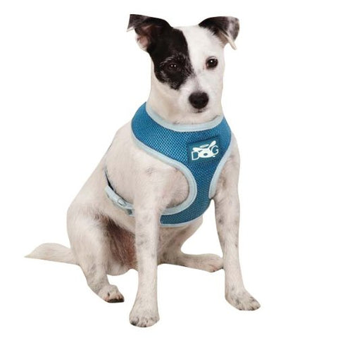 DogIsGood Halo Dog Harness-DOG-DogIsGood-BLACK-X-SMALL-Pets Go Here