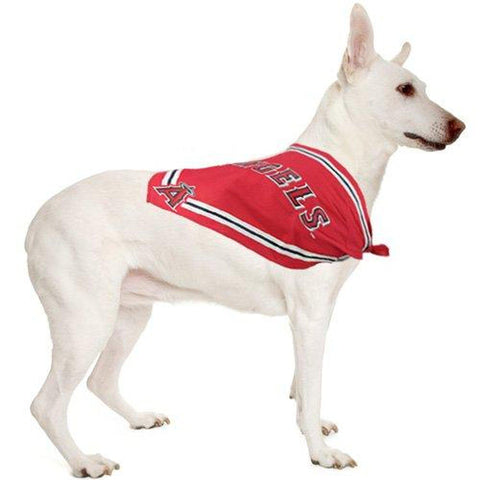 Anaheim Angels Dog Bandana SMALL-DOG-Sporty K9-SMALL-Pets Go Here