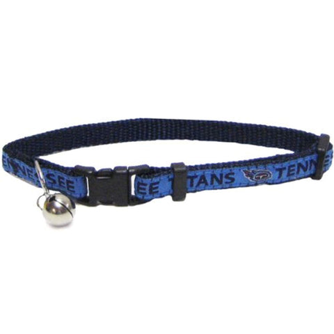 NFL Pets First Tennessee Titans Cat Collar