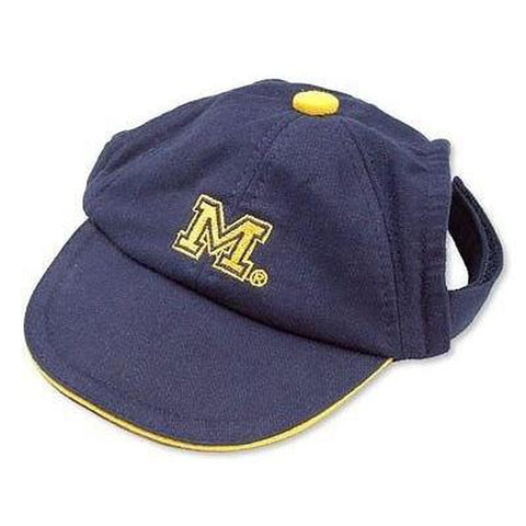 Michigan Wolverines Dog Hat-DOG-Sporty K9-LARGE-Pets Go Here
