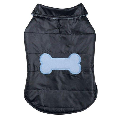 Casual Canine Snow Puff Dog Vest-DOG-Casual Canine-LARGE-Pets Go Here blue, casual canine, dog clothes, fleece, l, m, navy, s, vest, xl, xs, xxs Pets Go Here, petsgohere