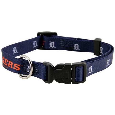 Detroit Tigers Dog Collar-DOG-Hunter-SMALL-Pets Go Here hunter, l, m, nylon, s, xl, xs Pets Go Here, petsgohere