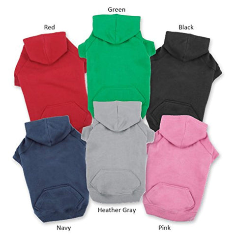Casual Canine Basic Cotton Dog Hoodie blue, casual canine, dog, dog clothes, fashionable, hoodie, trendy Pets Go Here, petsgohere