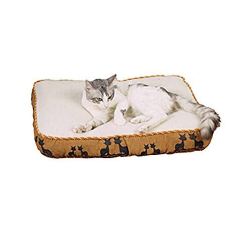 Slumber Pet Faux Suede Kitty Cat Bed