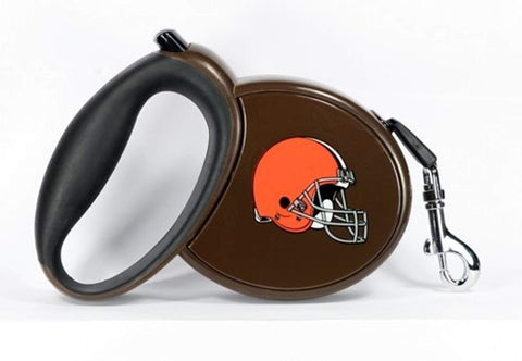 Hip Doggie Cleveland Browns Retractable Leash