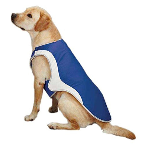 Guardian Gear Cooling Dog Coat BLUE-DOG-Guardian Gear-LARGE-Pets Go Here blue, coat, cooling, dog coat, guardian gear, jacket, l, light blue, m, outdoor, s, xl, xs Pets Go Here, petsgohere