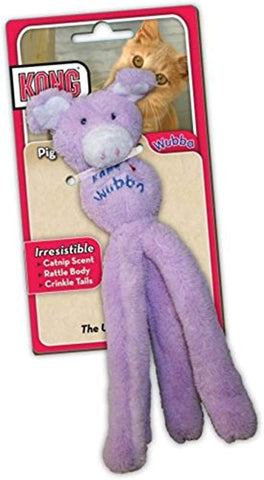 Kong Wubba Cat Toy cat, cat toy, kong, rattle, squeak, toy, wubba Pets Go Here, petsgohere