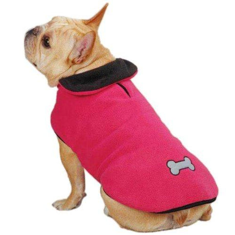Zack and Zoey Reflective Thermal Dog Jacket-DOG-Zack & Zoey-LARGE-RASPBERRY-Pets Go Here blue, jacket, l, m, pink, raspberry, reflective, s, xl, xs, zack & zoey Pets Go Here, petsgohere