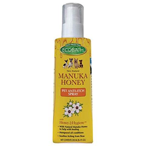EcoBath Manuka Honey Anti Itch Spray ant--itch, dog, eco, natural, new, spray Pets Go Here, petsgohere