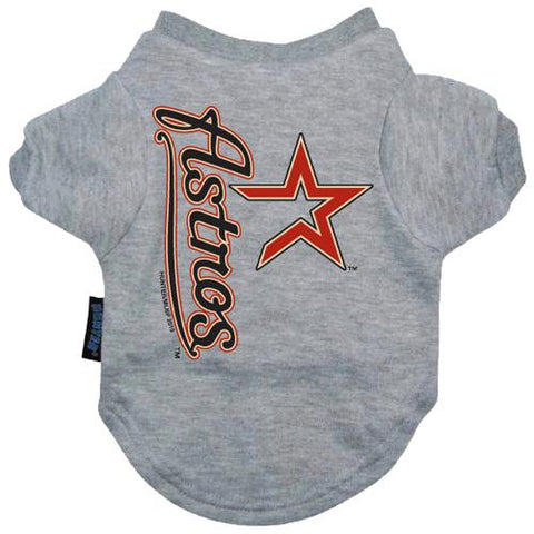 Houston Astros Dog Shirt-DOG-Hunter-Pets Go Here hunter, mlb, sports shirt Pets Go Here, petsgohere