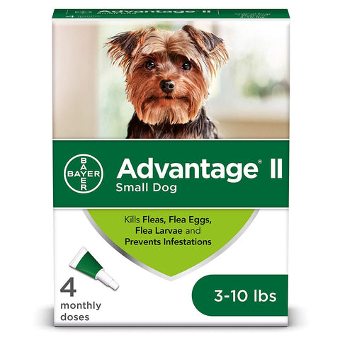 Advantage II Flea and Lice Treatment Under 10 LB
