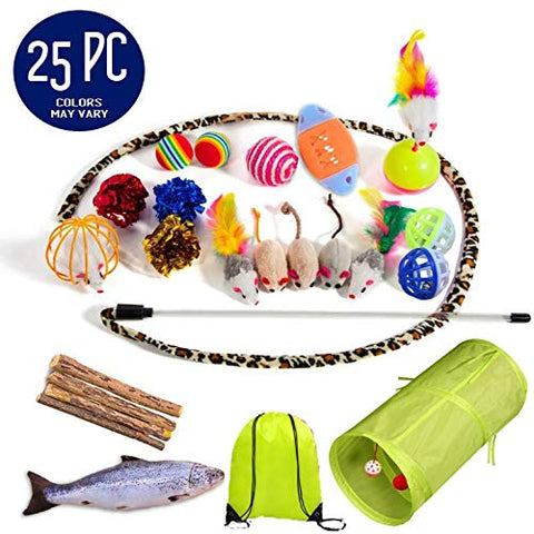 The Perfect Cat Toy Kit + Bonus Bag!