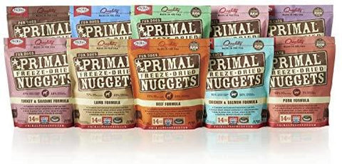 Primal Freeze-Dried Nuggets Dog Food