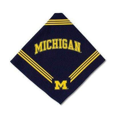 NCAA Michigan Wolverines Dog Bandana A
