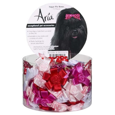 Aria Sugar Pie Dog Bows