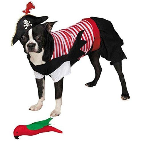 Zack and Zoey Pirate Tails Dog Costume-DOG-Zack & Zoey-SMALL-Pets Go Here costume, l, m, m/l, red, s, s/m, sash, xl, xs, yellow, zack & zoey Pets Go Here, petsgohere