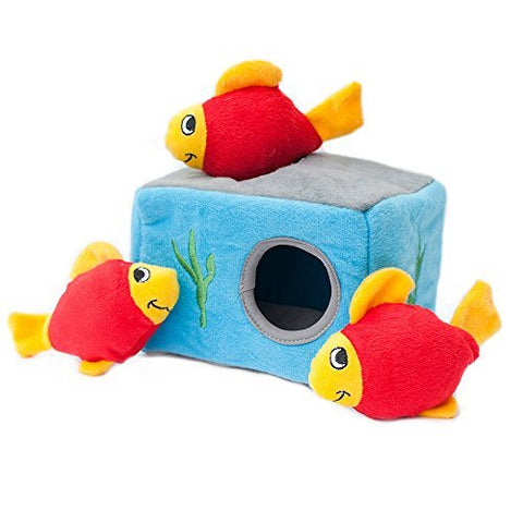 ZippyPaws Sea Buddies Burrow Plush Dog Toys