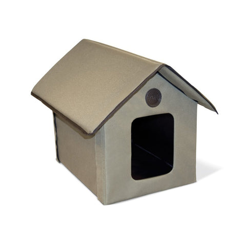 K&H Pet Products Outdoor Kitty House (Heated & Unheated) bed, cat, cat house, home Pets Go Here, petsgohere