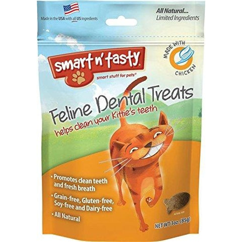 Emerald Dental Grain Free Treats CHICKEN-CAT-EMERALD PET-Pets Go Here cat, cat treat, crunchy, dental treat, emerald pet, grain free, treat Pets Go Here, petsgohere