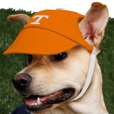 Tennessee Volunteers Dog Hat-DOG-Sporty K9-X-SMALL-Pets Go Here ball cap, dc, dog clothes, hat, l, m, m/l, ncaa, s, s/m, sports, sports hat, sporty k9, xl, xs Pets Go Here, petsgohere