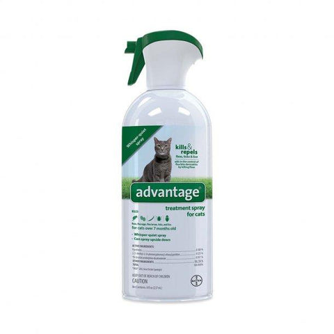 Advantage Flea and Tick Treatment Spray for Cats