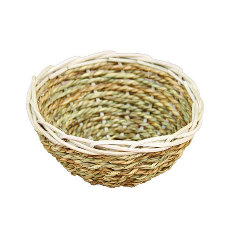PetPals Cat Bed SEAGRASS & PAPER NESTING BOWL-CAT-PetPals-Pets Go Here bed, cat bed, PetPals Pets Go Here, petsgohere