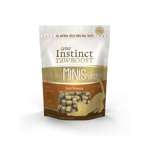 Instinct Freeze Dried Raw Boost Grain Free All Natural Cat Treats by Nature's-CAT-Nature's-2.25 Oz-Pets Go Here 2.25 oz, bag, cat, cat treat, freeze-dried, grain free, treat Pets Go Here, petsgohere