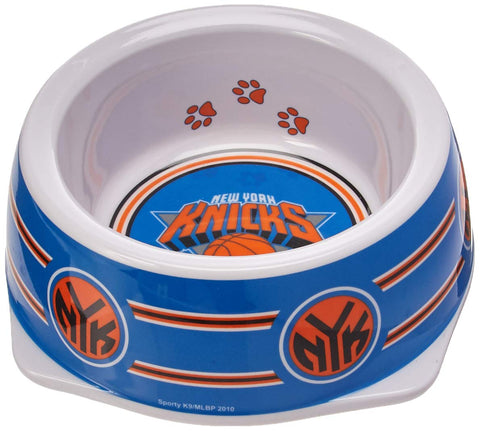 Sporty K9 NBA New York Knicks Pet Bowl, Small