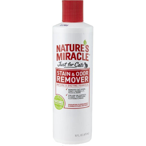 Nature's Miracle Stain & Odor Removers 16 Oz Spray-DOG-Nature's Miracle-Pets Go Here dog, nature's miracle Pets Go Here, petsgohere