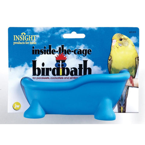 JW Pet Insight Inside the Cage Bird Bath cages and accessories Pets Go Here, petsgohere