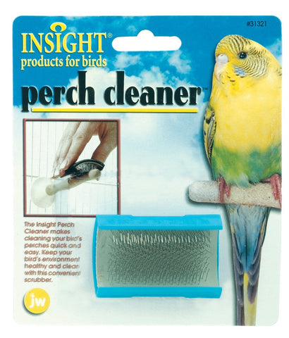 JW PET Insight Perch Cleaner bird, bird toys, clean, ds, perch Pets Go Here, petsgohere