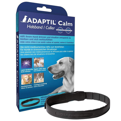 Adaptil Calm On-The-Go Flea Collar for Dogs collar, dog, dog flea collar, flea collar, flea treatment Pets Go Here, petsgohere