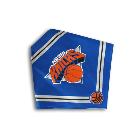 New York Knicks Dog Bandana-DOG-Sporty K9-SMALL-Pets Go Here 4 ft, bandana, dc, jersey, l, m, nba, s, sports, sports bandana, sports jersey, sporty k9, xl, xs Pets Go Here, petsgohere