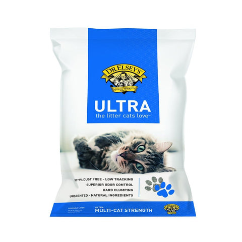 Dr. Elsey's Premium Clumping Cat Litter Ultra 18 Lb