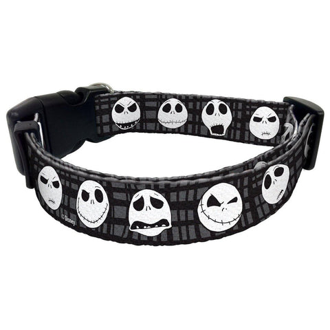 Disney Nightmare Before Christmas Jack Skellington Dog Collar 34DCLR-6-DOG-Howard Keys Company-Pets Go Here