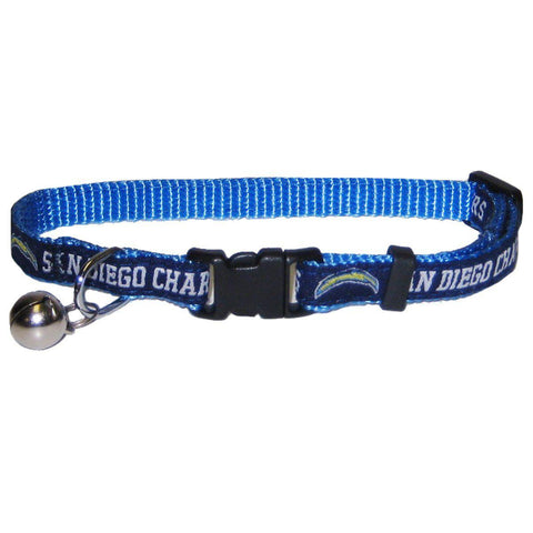 San Diego Chargers Breakaway Cat Collar-CAT-Pets First-Pets Go Here nfl, nylon Pets Go Here, petsgohere