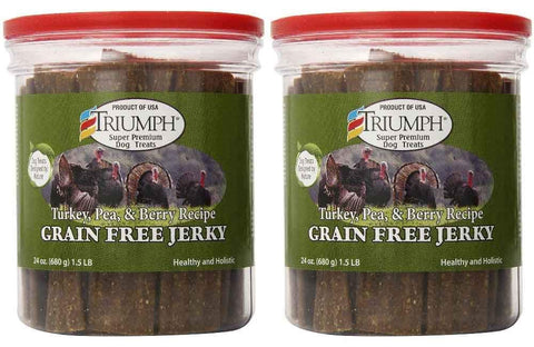 Triumph Dog Turkey jerky, treats Pets Go Here, petsgohere