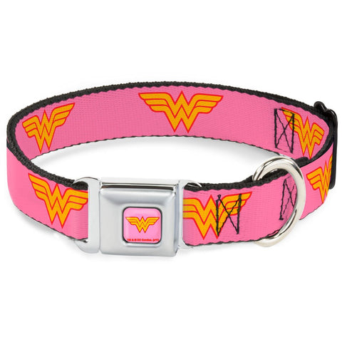 Buckle Down Dog Collar Wonder Woman