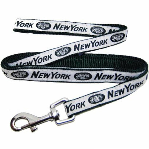 New York Jets Leash Embroidered-DOG-Pets First-Pets Go Here 4 ft, nfl, nylon Pets Go Here, petsgohere