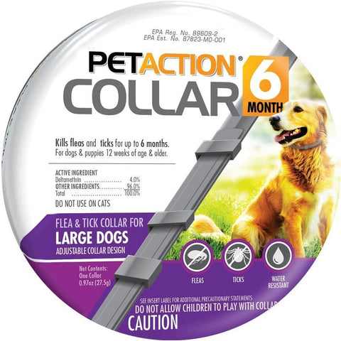 PetAction Flea Tick Collar for Dogs