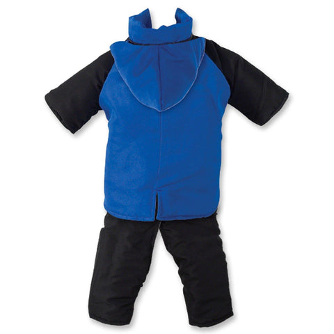 Casual Canine Dog Snowsuit-DOG-Casual Canine-X-SMALL-BLUE-Pets Go Here blue, jacket, nylon, red, s Pets Go Here, petsgohere